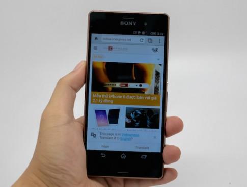 Mở hộp bộ đôi Sony Xperia Z3 và Z3 Compact tại Việt Nam