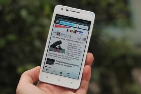 'Mở hộp' điện thoại Android siêu mỏng 6,65 mm ở VN
