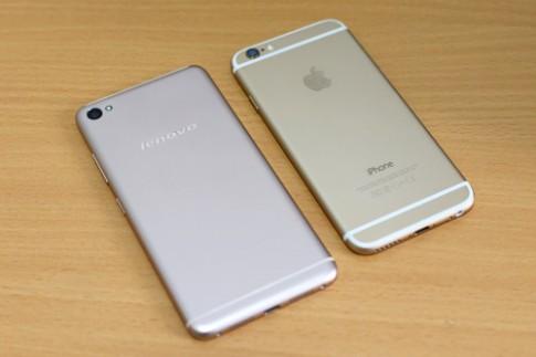 Mở hộp điện thoại Lenovo dáng giống iPhone 6