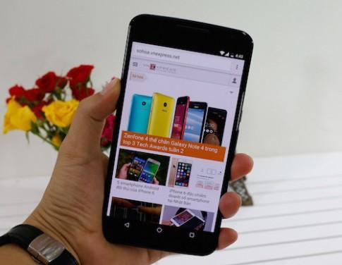 Mở hộp điện thoại Nexus 6 đầu tiên về Việt Nam