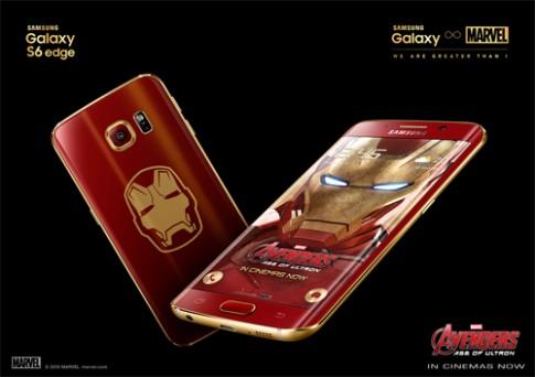 Mở hộp Galaxy S6 edge phiên bản đặc biệt Iron Man