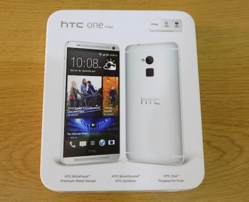 Mở hộp HTC One Max tại Việt Nam