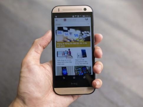 Mở hộp HTC One Mini 2 chính hãng tại Việt Nam