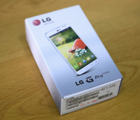Mở hộp LG G Pro Lite Dual – phablet 2 sim tầm trung