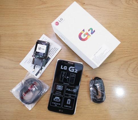 'Mở hộp' LG G2 chính hãng
