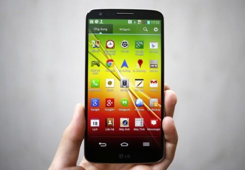 Mở hộp LG G2 phiên bản màu vàng ở VN