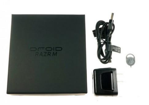 Mở hộp Motorola Droid Razr M