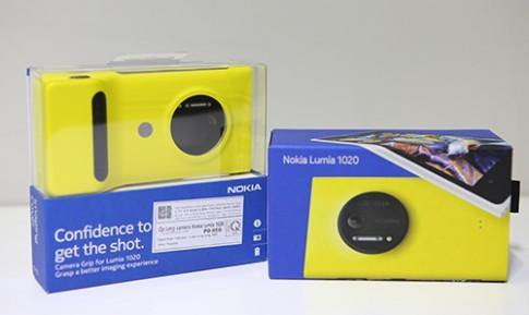 Mở hộp Nokia Lumia 1020 tại Việt Nam