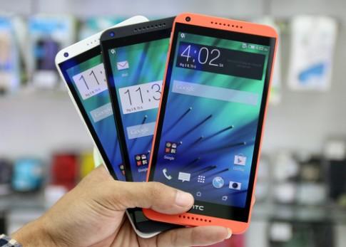 Mở hộp phablet 2 SIM tầm trung HTC Desire 816