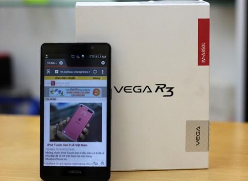 'Mở hộp' Sky Vega R3 ở Việt Nam
