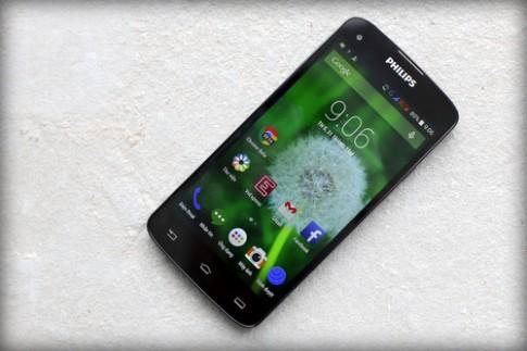 Mở hộp smartphone Full HD cao cấp giá mềm của Philips