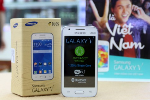 Mở hộp smartphone giá rẻ 2,3 triệu đồng của Samsung