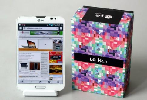 'Mở hộp' smartphone kiểu dáng vuông LG Vu 3