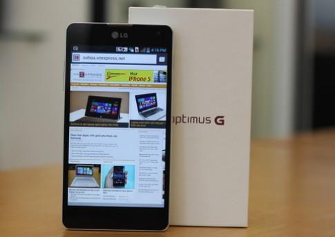 'Mở hộp' smartphone lõi tứ khủng nhất của LG ở VN