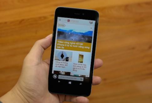 Mở hộp Storm W510 - Windows Phone thương hiệu Việt đầu tiên