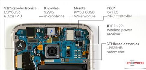 'Mổ xẻ' bộ xử lý, camera bên trong Galaxy S7
