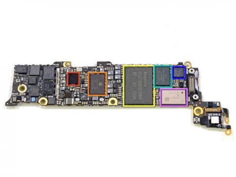 'Mổ xẻ' phần cứng của iPhone 5 (tiếp)