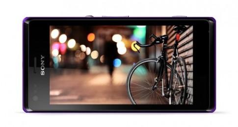 Một số hình ảnh về Sony Xperia M