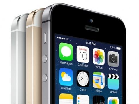 Một số iPhone 5S bị lỗi pin
