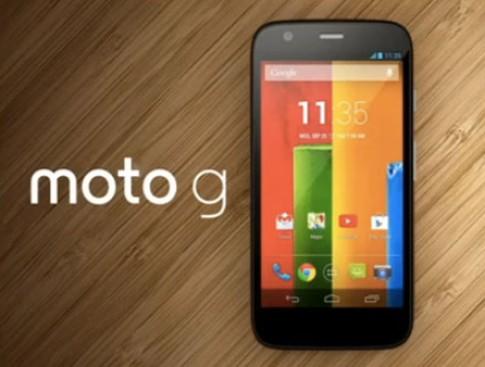 Moto G giá rẻ có hiệu năng cao hơn Nexus 4