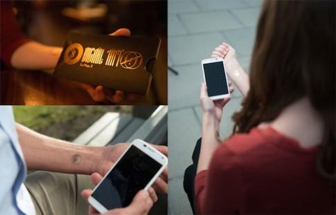Motorola dùng hình xăm để mở khóa điện thoại
