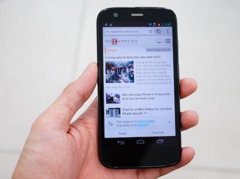 Motorola G chính hãng giá 4,25 triệu đồng