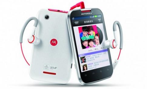 Motorola giới thiệu smartphone chuyên nghe nhạc