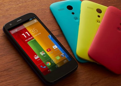 Motorola giới thiệu smartphone màn hình rộng giá rẻ Moto G