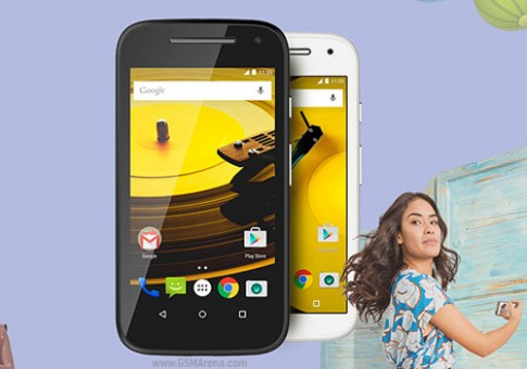 Motorola Moto E 2015 ra mắt với giá 3,2 triệu đồng
