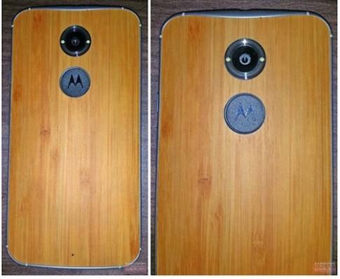 Motorola Moto X 1 dùng vỏ gỗ lộ diện