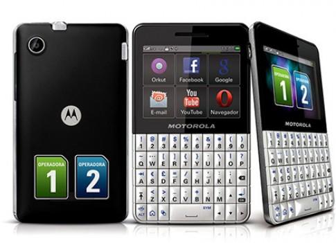 Motorola nâng cấp điện thoại 2 sim mới - EX 119