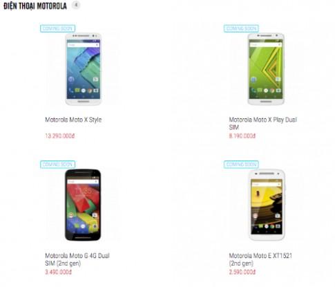 Motorola quay lại thị trường điện thoại Việt Nam