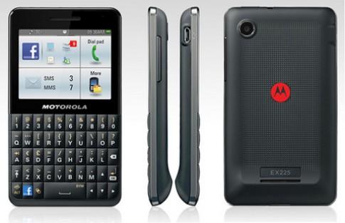 Motorola ra mắt smartphone Facebook đầu tiên