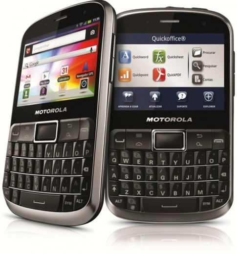 Motorola ra smartphone QWERTY 'siêu bền'