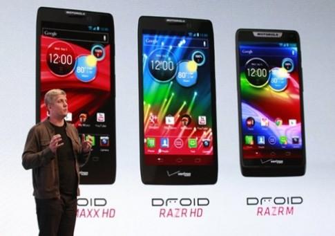 Motorola Razr HD hoãn bán vì lỗi ăng-ten