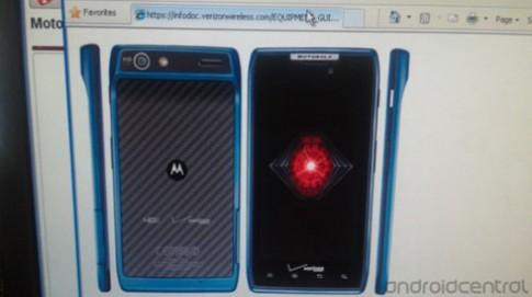 Motorola Razr thêm phiên bản màu xanh dương