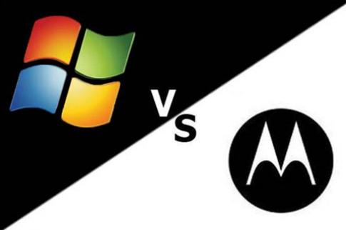 Motorola vi phạm bằng sáng chế Microsoft