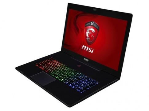 MSI GS70 - laptop chơi game 17 inch mỏng nhẹ nhất thế giới