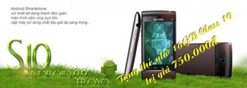 Mua điện thoại Q-mobile S10 được tặng thẻ nhớ Class 10 16GB