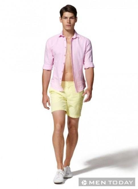 Mùa hè chọn vải gì cho các chàng mát mẻ?