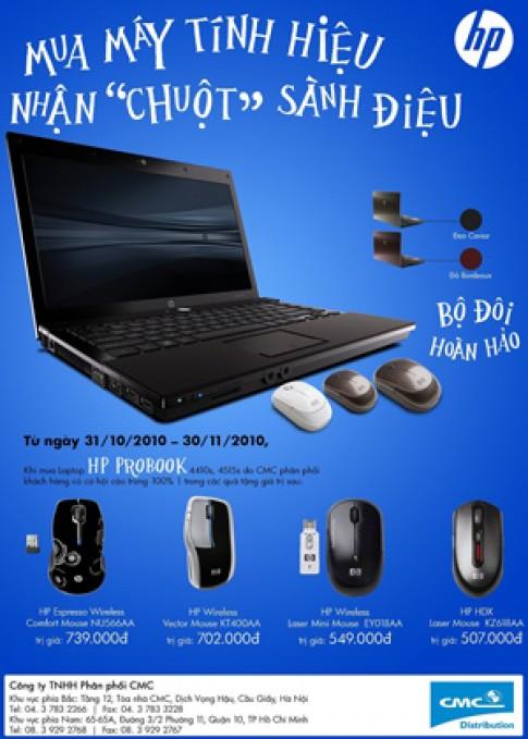 Mua HP ProBook được tặng chuột 700 nghìn đồng