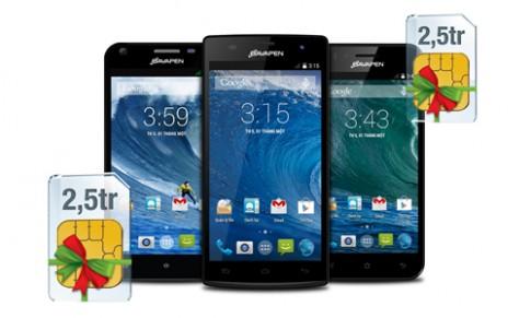 Mua smartphone Bavapen được tặng SIM 2,5 triệu đồng
