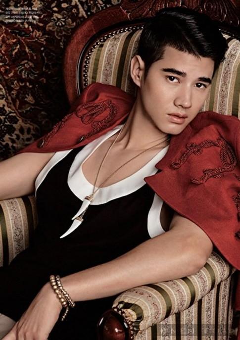 Mỹ nam Hàn, Thái hội tụ trên tạp chí tháng Tư