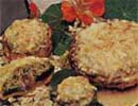 Nấm nhồi tẩm bột chiên