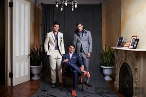 Nam tính và lịch lãm cùng bst thời trang xuân hè 2014 của Haspel