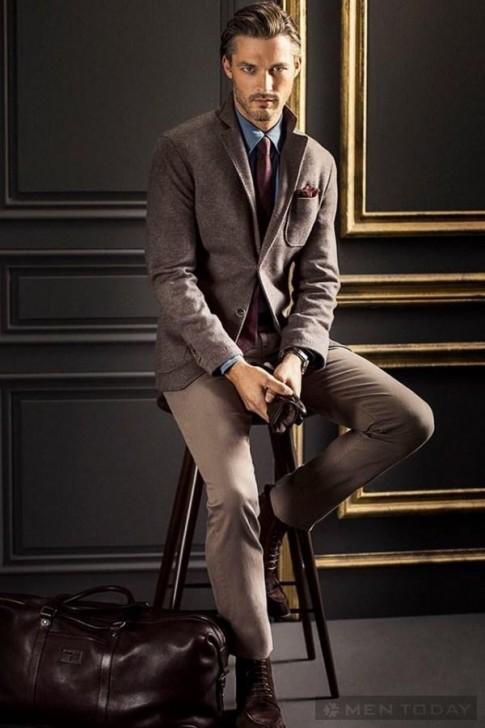 Nam tính và lịch lãm với lookbook thời trang của Massimo Dutti