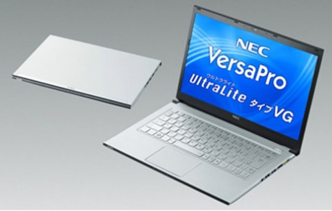 NEC giới thiệu ultrabook mới nặng chỉ 875g