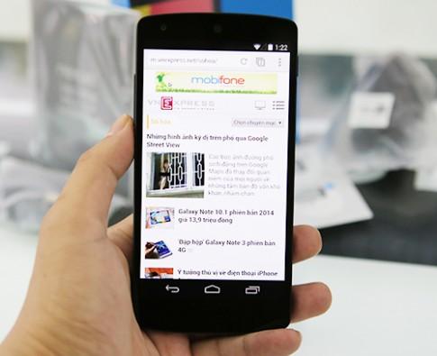 Nexus 5 bất ngờ xuất hiện tại Việt Nam