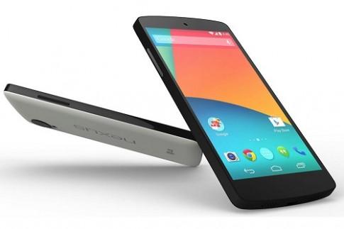 Nexus 5 hoãn giao hàng gần một tháng