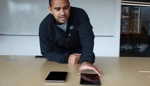 Nexus 7 mới bền hơn iPad Mini